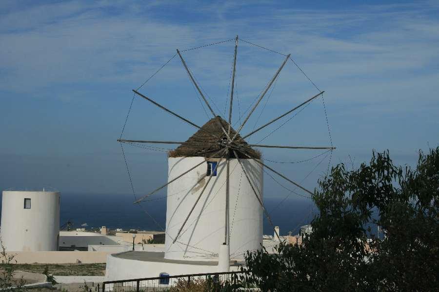 """Eine der wenigen \""""lebenden\"""" Windmühlen"""