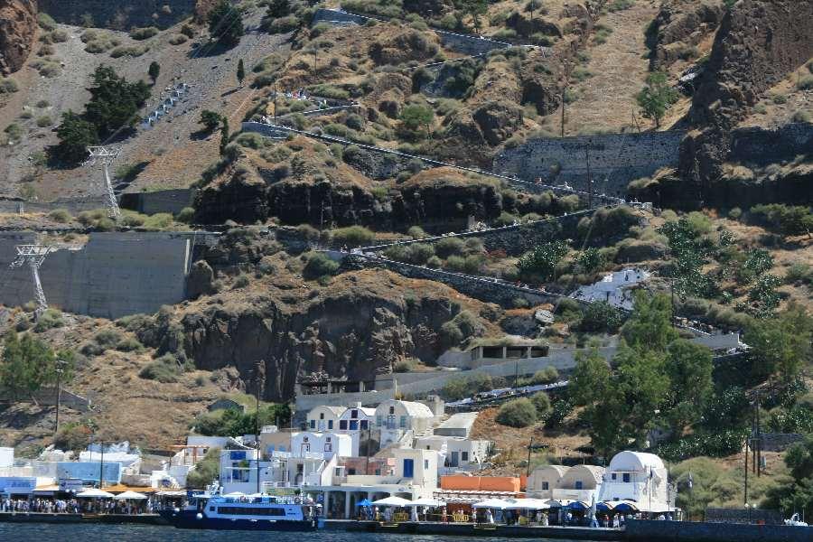 Hafen von Thira