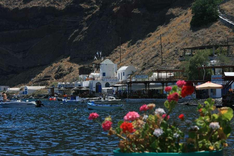 Hafen auf Thirasia