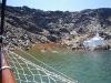 Badespaß auf Palea Kameni