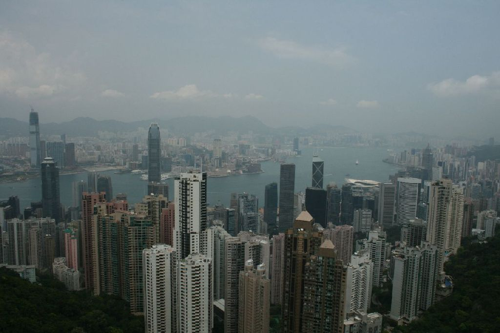 Aussicht vom Peak