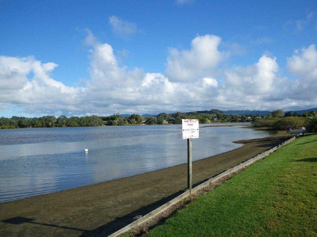 Erster Campingplatz in NZ