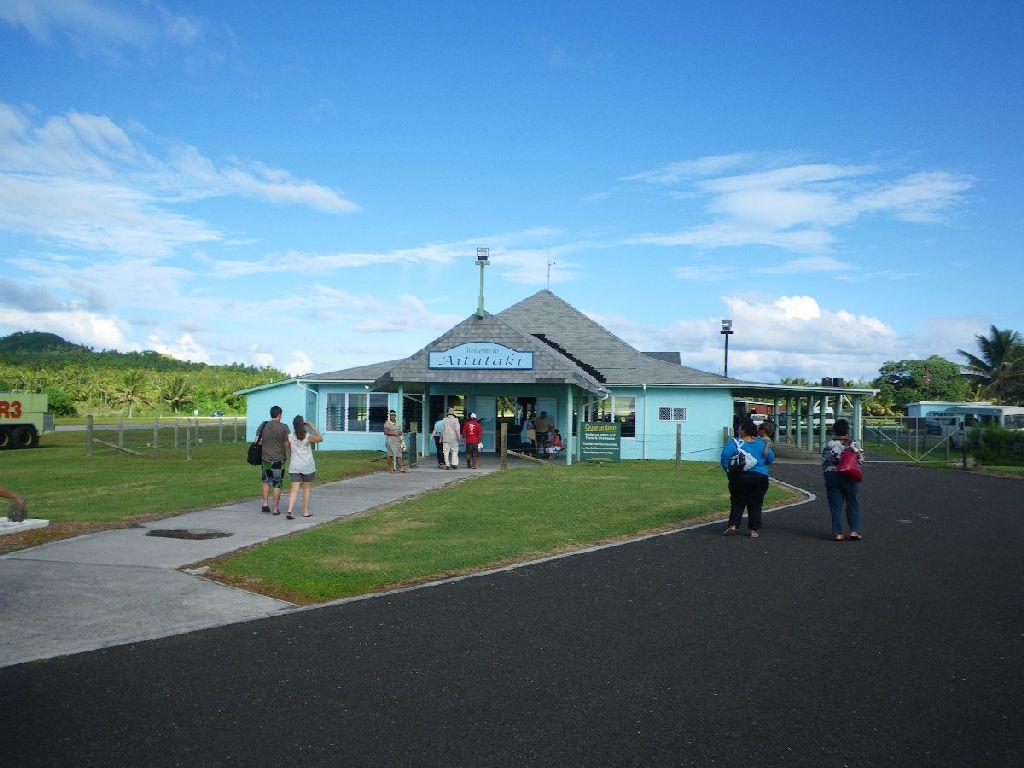 Ankunft in Aitutaki