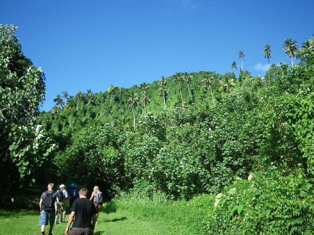 Cross Island Trek auf Rarotonga