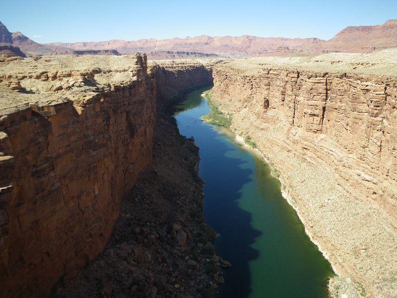 Blick von der Navajo Bridge
