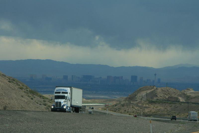 Blick auf Vegas