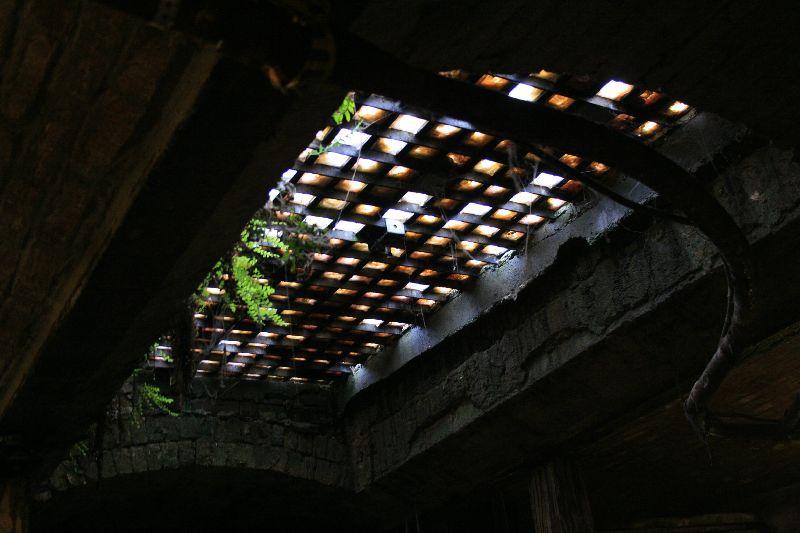 Oberlicht im Underground