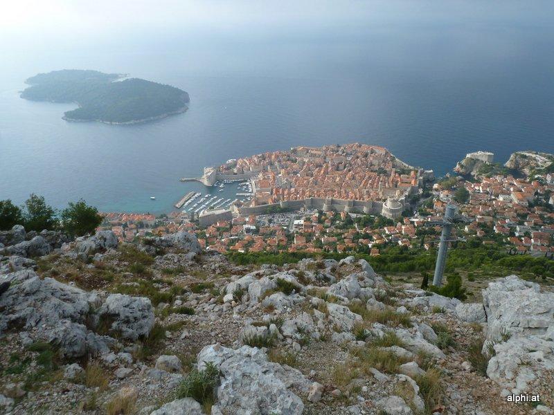 Dubrovnik, von Srd aus (P)