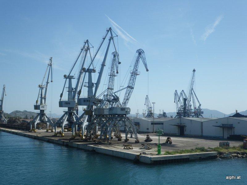 Hafen von Ploce