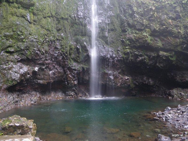 Wasserfall im Kessel