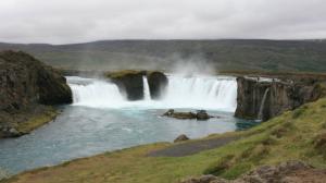 Godafoss- Wasserfall der Götter