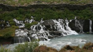 Ein seltsamer Wasserfall