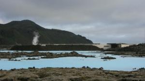 Die Blaue Lagune von außen