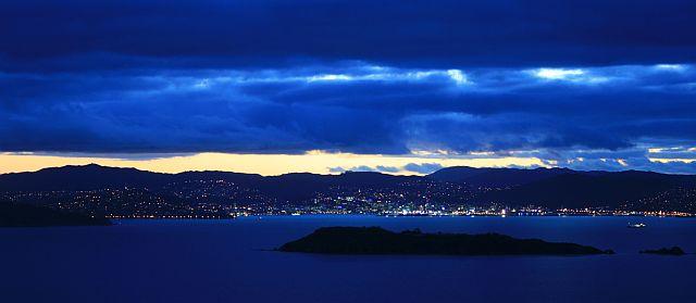 Wellington bei Nacht