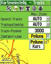 Zielfahrt-Linie