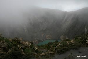 Einer der beiden Vulkankrater